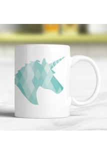 Caneca Turquoise Unicorn