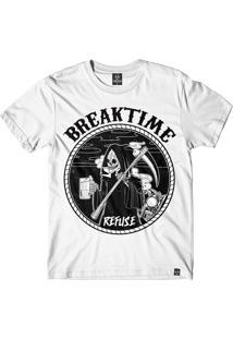 Camiseta Refuse Breaktime - Branca
