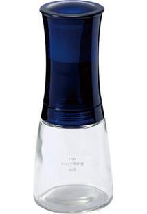 Moedor De Sal E Pimenta De Cerâmica Ajustável Azul Cm-20Bu Kyocera