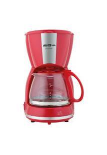 Cafeteira Britânia Cp15 Inox Vermelha 127V