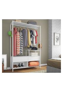 Guarda-Roupa Closet Modulado Barcelona Branco