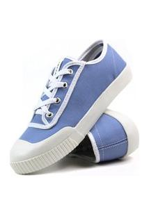 Tênis Feminino Casual Mr Try Shoes Sapatênis Azul