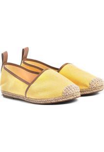 Sapatilha Shoestock Lona Feminina - Feminino-Amarelo