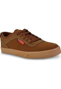 Tenis Masc Free Day 47703 Solid Eco Havana/Natural