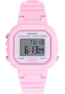 3b24ce6d1ed Relógio Digital Casio Rosa feminino
