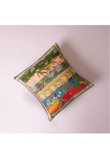 Capa De Almofada Mont Dore 40X40 Cor: Multicolorido - Tamanho: Único