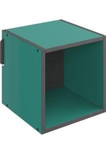 Nicho Quadrado Decorativo Lyam Decor Mov Verde