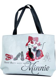 Bolsa Minas De Presentes Minnie Branca