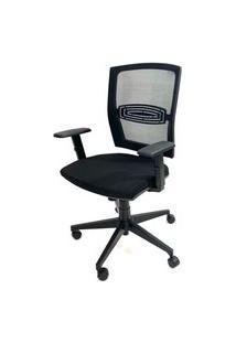 Cadeira Office Gerente Byartdesign Orion Preto