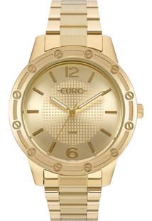 Relógio Euro Feminino Texturas Eu2035Ynd/4D