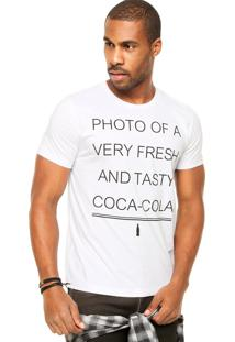 Camiseta Coca-Cola Jeans Photo Branca