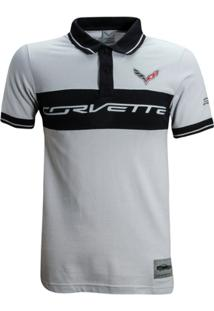 Camisa Liga Retrô Premium Corvette Polo Recorte - Masculino
