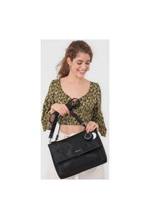 Bolsa Desigual Shoulder Bag Alegria Preta
