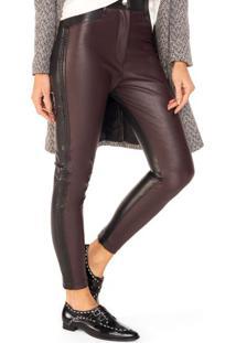 Calça Skinny Leather Duas Cores