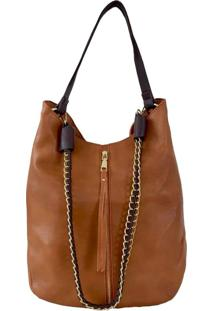 Bolsa Its! Hobo Corrente Caramelo