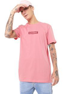 Camiseta Element Neon Rosa