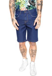 Bermuda Jeans Triton Reta Alexander Azul