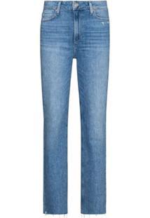 Paige Calça Jeans Reta Sarah - Azul