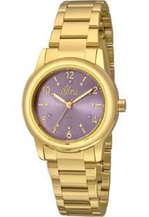 Relógio Allora Feminino Al2036Fij/K4G - Dourado Al2036Fij/K4G - Feminino