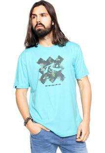 Camiseta Rusty Epicolor Azul