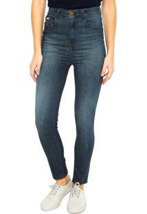 aad7aa187 -31% Calça Jeans Ellus Skinny Estonada Azul