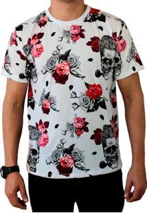Camiseta Ops Skull Hipster Estampada
