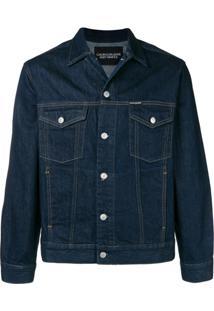 Calvin Klein Jeans Jaqueta Jeans 'Warhol Portrait' - Azul