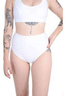 Calcinha Hot Pants Branco