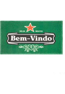 Capacho Beer Vinil Art 60X40Cm Kapazi