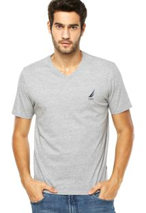 Camiseta Nautica Keeper Cinza