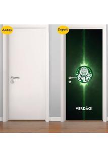 Adesivo De Porta Palmeiras (0,80M X 2,10M)