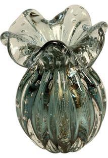 Vaso Decorativo De Murano Forli