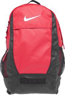 Mochila Nike Sportswear Team Training Medium Bp Gym Vermelha
