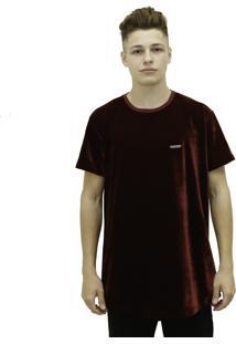 Camisa Mc Verse Limited Plaque Bordô