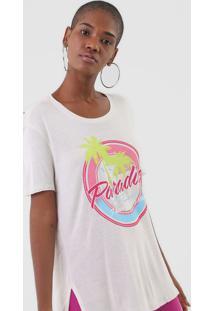 Camiseta Ellus Paradise Off-White - Kanui