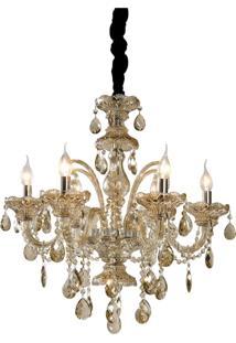 Lustre Lamp Show Belfast Cognac Dourado - Kanui