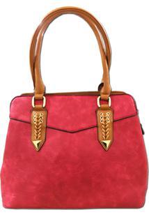 Bolsa Sys Fashion Casual Importada 2751 Vermelho