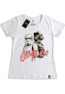 Camiseta Feminina Star Wars Empire - Feminino-Branco