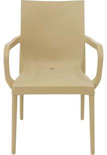 Cadeira Com Braco Iris Archair Beige