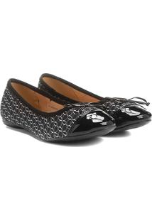Sapatilha Shoestock Tecido Monograma - Feminino