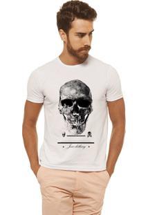 Camiseta Joss - Premium Caveira - Masculina - Masculino-Branco