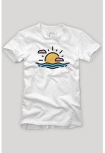 Camiseta Reserva Sol E Mar - Masculino-Branco