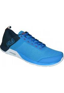Tenis Fila Fxt Cross Masculino - Masculino-Azul+Marinho