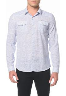 Camisa Ml Ckj Estampa Flower Mini - M