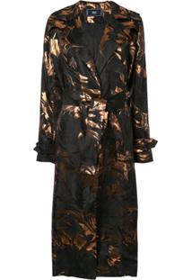 Taller Marmo Trench Coat Hendrix - Preto