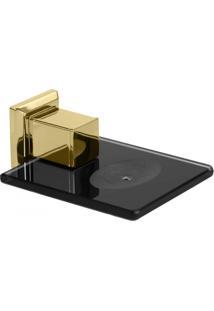 Saboneteira Em Inox Gold Go5020 Ducon Metais Preto