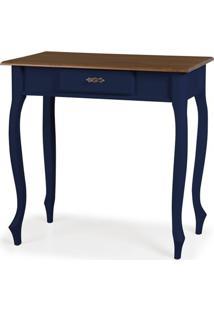 Aparador Elegance Azul Petroleo Pes Luiz Xv 80Cm - 59852 - Sun House