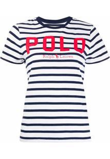 Polo Ralph Lauren Camiseta Com Estampa De Logo - Azul