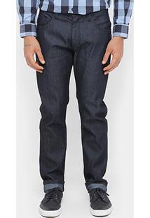 Calça Jeans Slim Ellus Black Indigo Masculina - Masculino