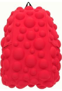 Mochila Madpax Bubble Grande Vermelha Neon
